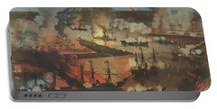 The Splendid Naval Triumph On The Mississippi, April 24th, 1862 Portable Battery Charger