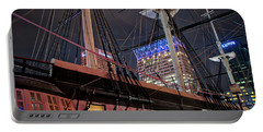 Portable Battery Charger featuring the photograph The Uss Constellation by Mark Dodd