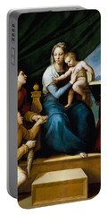 The Virgin With A Fish Portable Battery Charger