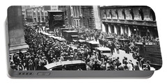 The Wall Street Crash 1929 Portable Battery Charger