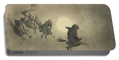 The Witches' Ride Portable Battery Charger