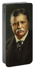 Theodore Roosevelt - President Of The United States Portable Battery Charger