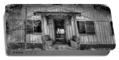 Portable Battery Charger featuring the photograph This Old House by Mike Eingle
