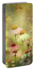 Thoughts Of Flowers Portable Battery Charger