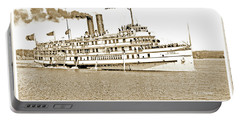 Thousand Islands Ferry Boat 1906 Vintage Photograph Portable Battery Charger