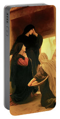 Three Marys At The Tomb Portable Battery Charger