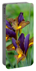 Tiger Irises Portable Battery Charger
