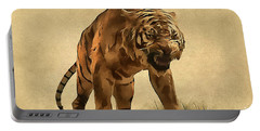 Tiger Portable Battery Charger by Sergey Lukashin