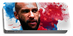 Tim Howard Portable Battery Charger by Semih Yurdabak