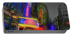 Portable Battery Charger featuring the photograph Times Square by Theodore Jones