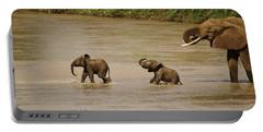 Tiny Elephants Portable Battery Charger