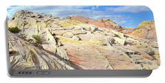Top Of The World At Valley Of Fire Portable Battery Charger