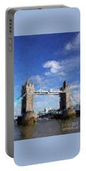 Tower Bridge, London, Enagland Portable Battery Charger