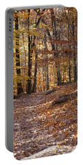 Portable Battery Charger featuring the photograph Trail by Heidi Poulin