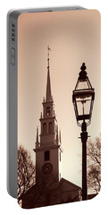 Trinity Church Newport With Lamp Portable Battery Charger