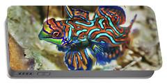 Tropical Fish Mandarinfish Portable Battery Charger
