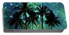 Tropical Night Portable Battery Charger by Delphimages Photo Creations