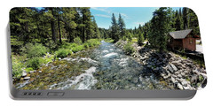 Truckee River In Tahoe City Portable Battery Charger