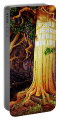 Trust In The Lord Portable Battery Charger