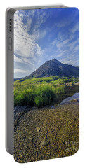 Tryfan Mountain Portable Battery Charger by Ian Mitchell