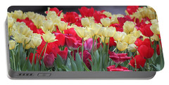 Tulips Portable Battery Charger by Suhas Tavkar
