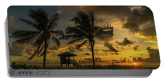 Two Palm Sunrise Delray Beach Florida Portable Battery Charger