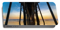 Under The Oceanside Pier Portable Battery Charger