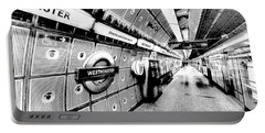 Underground London Art Portable Battery Charger