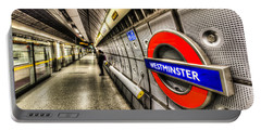 Underground London Portable Battery Charger by David Pyatt
