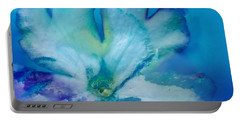Underwater Flower Abstraction 7 Portable Battery Charger