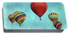 Portable Battery Charger featuring the photograph Up Up And Away 2 by Benanne Stiens