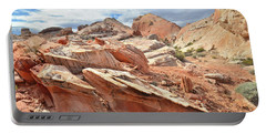 Valley Of Fire High Country Portable Battery Charger by Ray Mathis