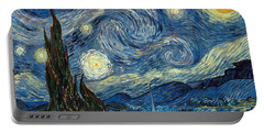 Van Gogh Starry Night Portable Battery Charger