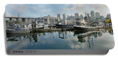 Vancouver Cityscape Portable Battery Charger