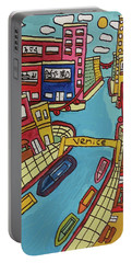 Venice Portable Battery Charger by Artists With Autism Inc