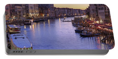 Venice Canal Grande Portable Battery Charger
