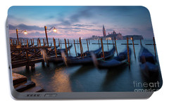 Portable Battery Charger featuring the photograph Venice Dawn by Brian Jannsen