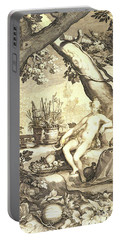 Vertumnus And Pomona Portable Battery Charger