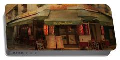 Vintage Scenes Of Paris Portable Battery Charger