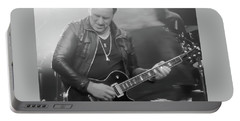 Vivian Campbell Ny 2017 Portable Battery Charger by Luisa Gatti