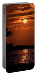Portable Battery Charger featuring the photograph Waikoloa Sunset by Pamela Walton