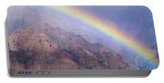 Waimea Canyon Rainbow Portable Battery Charger