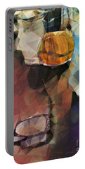 Waiting Portable Battery Charger by Kathie Chicoine