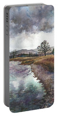 Walden Ponds On An April Evening Portable Battery Charger