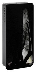 Portable Battery Charger featuring the photograph Washington Monument by Angela DeFrias