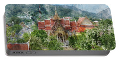 Wat Chalong In Phuket Thailand Portable Battery Charger