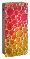 Water And Oil Bubbles Portable Battery Charger