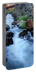 Portable Battery Charger featuring the photograph Water Under The Bridge by Sean Sarsfield
