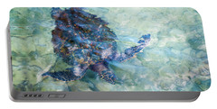Watercolor Turtle Portable Battery Charger