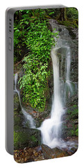 Waterfall By The Road Portable Battery Charger